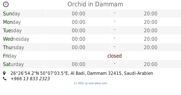 Al Taqwa Medical center Dammam opening times, contacts